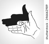 Hand Gesture Like Dog Face With ...