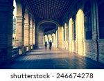 spain square in seville ... | Shutterstock . vector #246674278