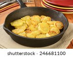 Sauteed Summer Squash In A Cas...