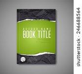 modern vector abstract book... | Shutterstock .eps vector #246688564