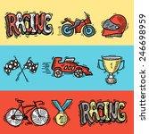 racing auto sport car... | Shutterstock .eps vector #246698959