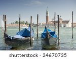 gondolas at the great channel... | Shutterstock . vector #24670735