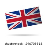 united kingdom flag vector art  ... | Shutterstock .eps vector #246709918