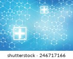 conceptual background digital... | Shutterstock . vector #246717166