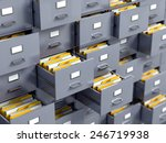 file cabinet | Shutterstock . vector #246719938