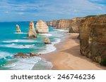 the twelve apostles  victoria... | Shutterstock . vector #246746236