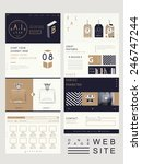 elegant style one page website...