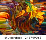 stained glass pattern series.... | Shutterstock . vector #246749068