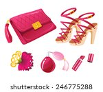 pink fashion | Shutterstock .eps vector #246775288
