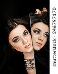high fashion look.glamour... | Shutterstock . vector #246797170