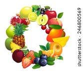 vector illustration letter o...   Shutterstock .eps vector #246800569