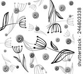vector background with black...   Shutterstock .eps vector #246803338