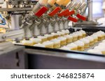 automatic production line of... | Shutterstock . vector #246825874