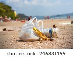 Garbage On A Beach ...