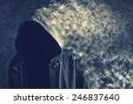 faceless unknown and... | Shutterstock . vector #246837640