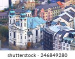 baroque building of mary... | Shutterstock . vector #246849280
