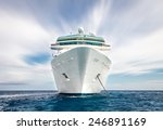 cruise ship  | Shutterstock . vector #246891169