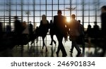 travel business people commuter ... | Shutterstock . vector #246901834