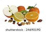 fruits and nuts | Shutterstock . vector #24690190