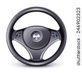steering wheel | Shutterstock . vector #246902323