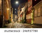 beautiful night streets... | Shutterstock . vector #246937780