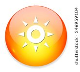 weather icon   button | Shutterstock . vector #246959104