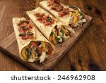 fajitas stuffed | Shutterstock . vector #246962908