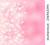 blurry valentines background... | Shutterstock .eps vector #246963394