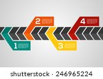 modern design layout   eps10... | Shutterstock .eps vector #246965224