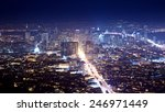 san francisco cityscape and... | Shutterstock . vector #246971449