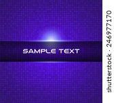 blue light technical background ... | Shutterstock .eps vector #246977170