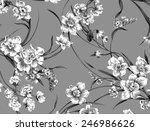 classic wallpaper seamless...   Shutterstock . vector #246986626