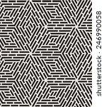 vector seamless pattern. modern ... | Shutterstock .eps vector #246990058