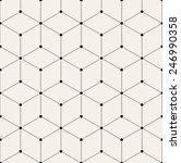 vector seamless pattern. modern ... | Shutterstock .eps vector #246990358