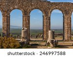 view of the arches of the... | Shutterstock . vector #246997588
