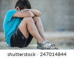 dirty and poverty | Shutterstock . vector #247014844