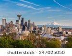 Seattle Downtown Skyline And M...
