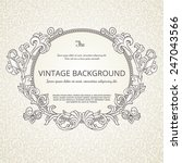 vintage background with... | Shutterstock .eps vector #247043566