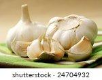 Close Ups Of Garlic   Healthy...