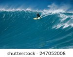 a surfer carves a radical off... | Shutterstock . vector #247052008