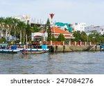 can tho  vietnam   nov 30  2014 ... | Shutterstock . vector #247084276