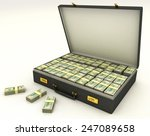 Case With Money 3d