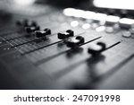 professional audio mixing... | Shutterstock . vector #247091998