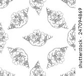 seamless pattern with...   Shutterstock .eps vector #247094869