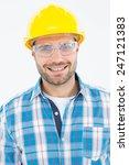 portrait of confident repairman ... | Shutterstock . vector #247121383