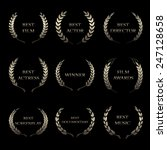 vector film awards  award... | Shutterstock .eps vector #247128658