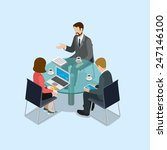 Business Negotiations Concept...