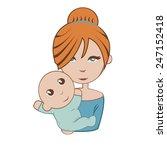 mum | Shutterstock .eps vector #247152418