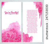 Vertical Greeting Card Templat...