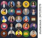 diverse multi ethnic people...